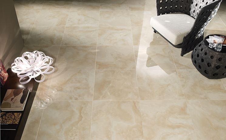 Ceramiche per interni pavimentazioni - Pavimenti lucidi a specchio ...