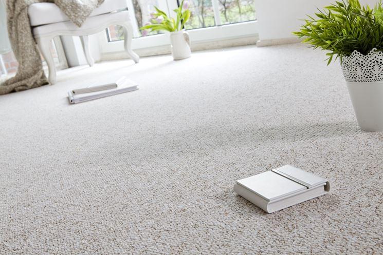 Morbida pavimentazione moquette