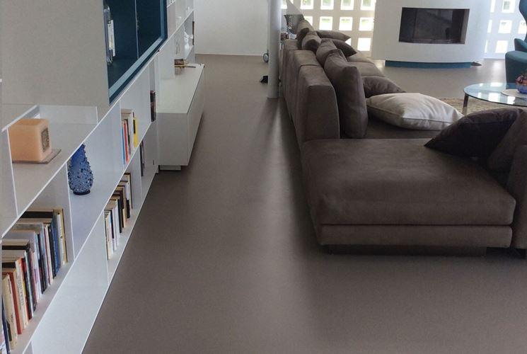 pavimento in resina moderno
