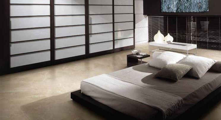 manutenzione del pavimento in marmo
