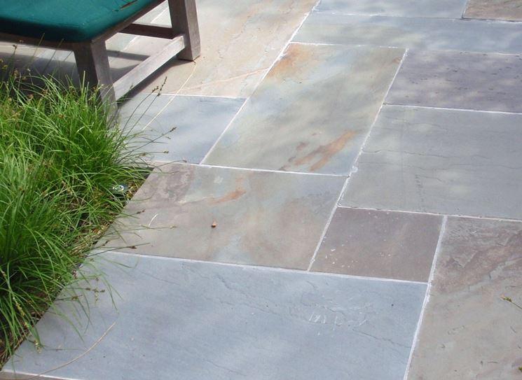 Pavimento in pietra pavimentazioni come realizzare un for Pavimento esterno effetto pietra