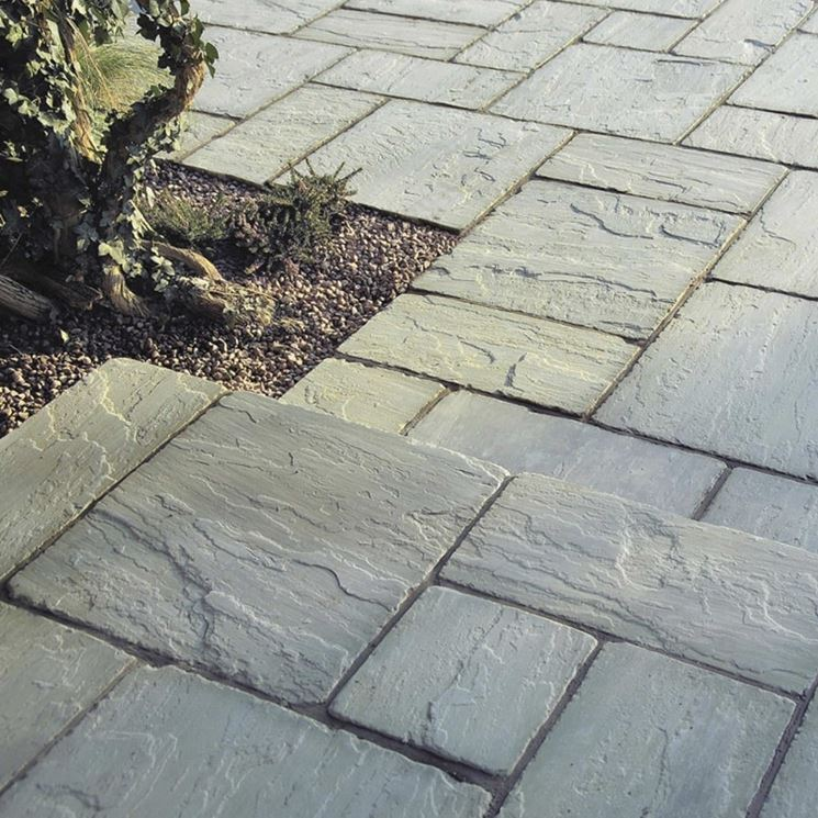 pietra per pavimenti esterni