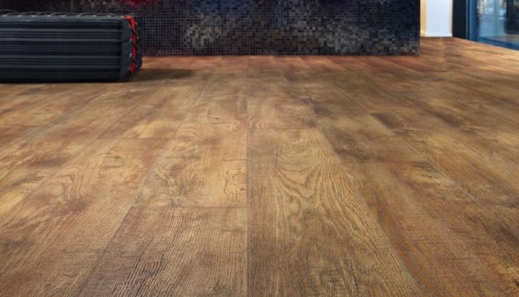 pavimento multistrato effetto parquet