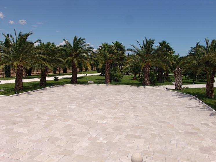 pavimento in pietra esterno