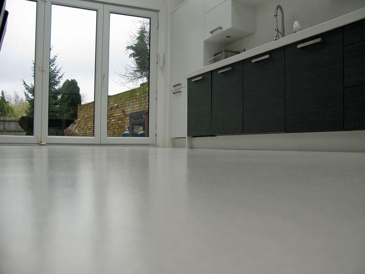 Esempio di pavimenti in resina