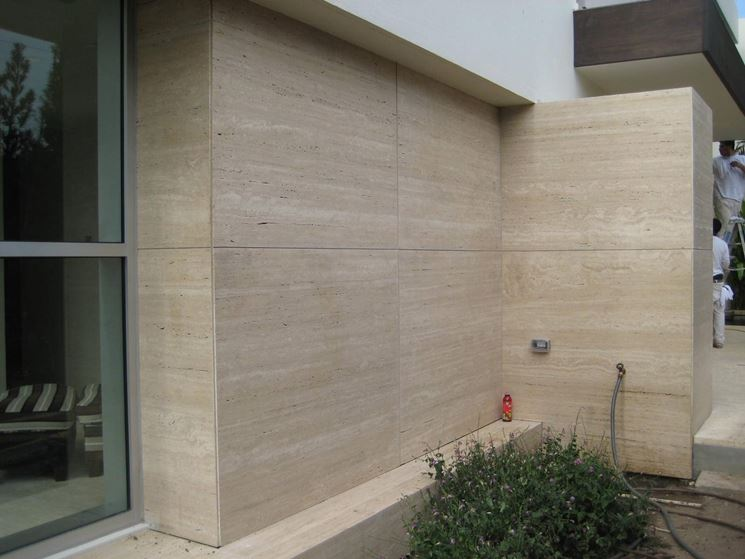 Rivestimenti per esterni pavimentazioni for Exterior wall tile design ideas