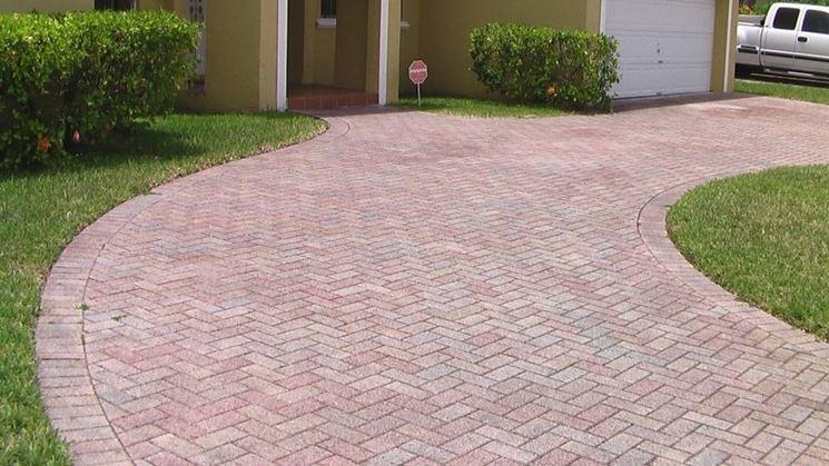 Masselli autobloccanti pavimento per esterni for Pavimento in autobloccanti