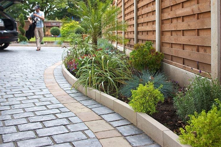 Pavimentazione giardino pavimento per esterni come - Pavimentazione cortile esterno ...