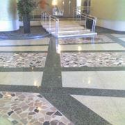 pavimento in graniglia di marmo