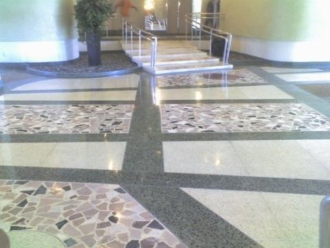 Pavimenti in graniglia pavimento per esterni