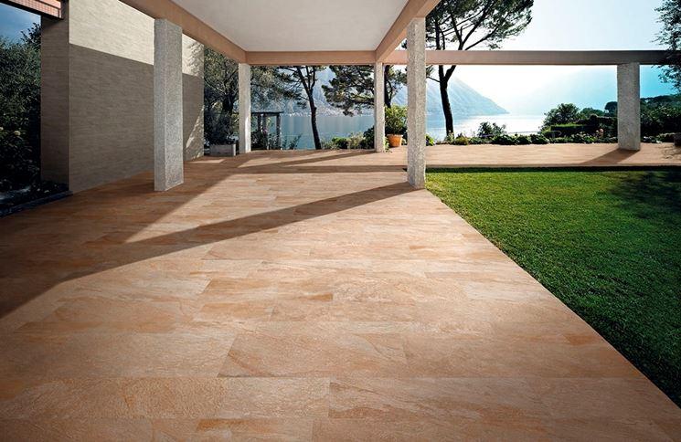 Pavimenti per esterni carrabili pavimento per esterni