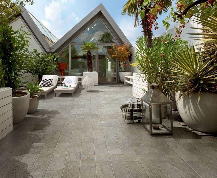pavimenti per terrazze esterne - Pavimento per esterni