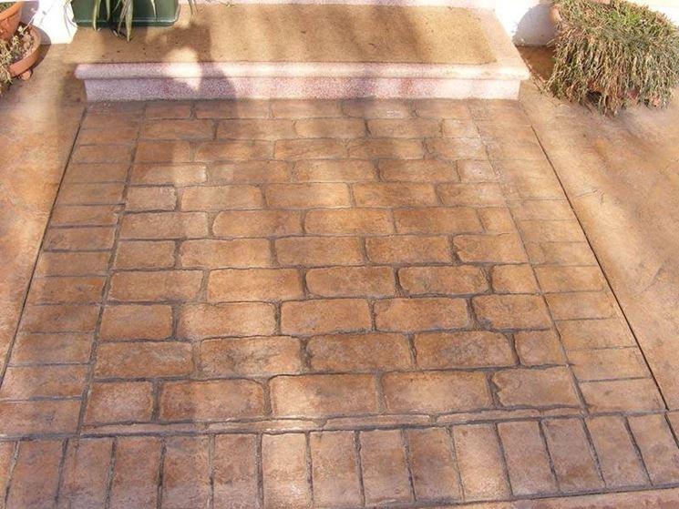 Pavimenti stampati per esterni pavimento per esterni - Rimuovere cemento da piastrelle ...