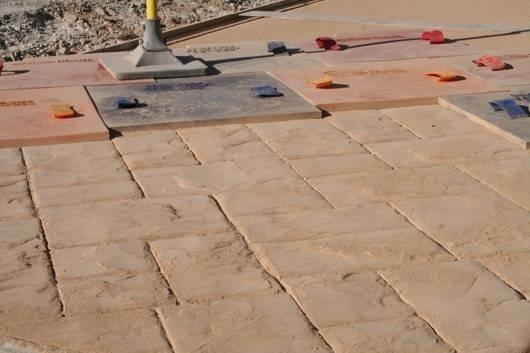 Calcestruzzo Stampato Per Esterni : Pavimenti stampati per esterni pavimento per esterni