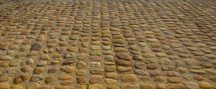 Pietre per pavimenti esterni pavimento per esterni - Pavimento in ciottoli esterno ...