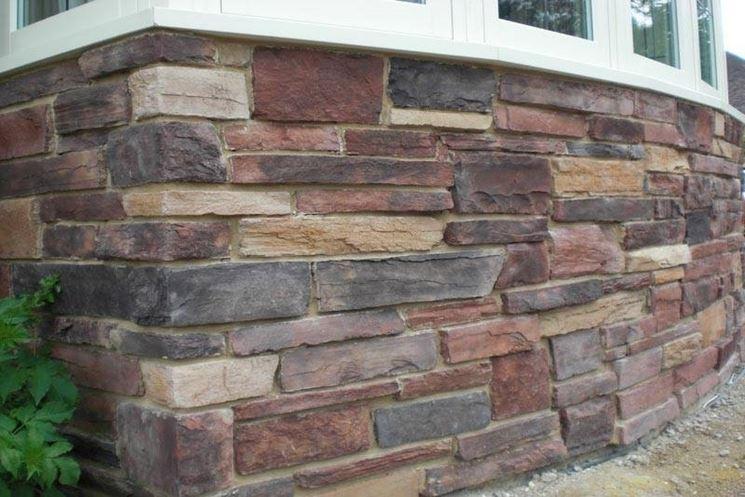Rivestimenti in pietra per esterni pavimento per esterni - Pietre da esterno per rivestimento ...