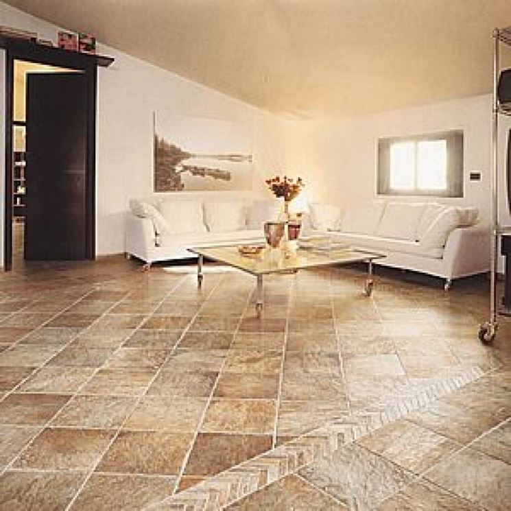 Pavimenti rustici per interni idea creativa della casa e - Piastrelle in cotto per interni ...