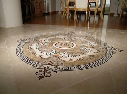 Decorazioni per pavimenti pavimento per interni - Pavimenti decorati ...
