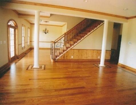 Pavimenti in legno pavimento per interni - Casa con parquet ...