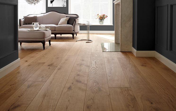 Pavimenti In Legno Rovere : Pavimento legno pavimento per interni caratteristiche