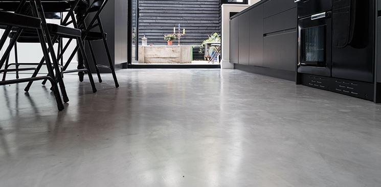 Resine pavimenti pavimento per interni resina per for Contenitori resina per esterni