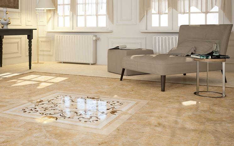 pavimento in ceramica classico