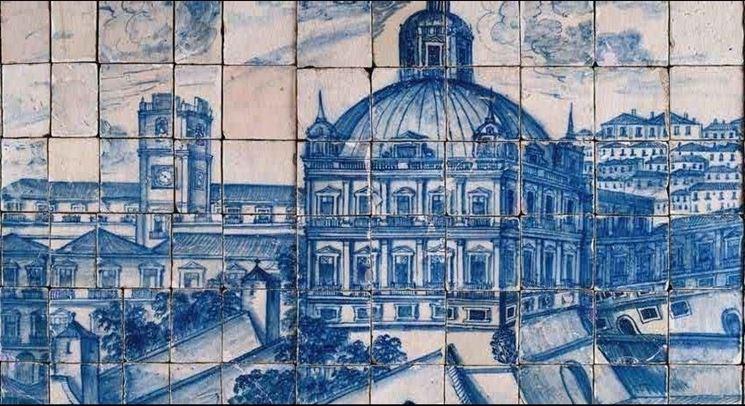 il museo degli azulejos in Portogallo