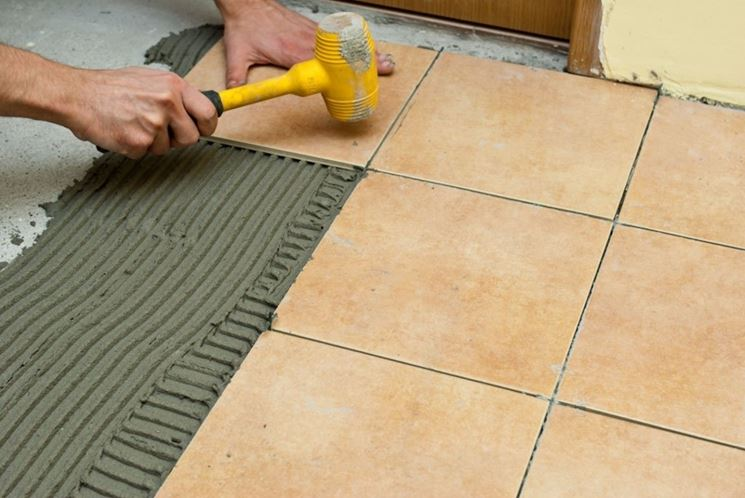 Come posare le piastrelle nel pavimento piastrelle consigli per la posa piastrelle pavimento - Posa piastrelle pavimento ...