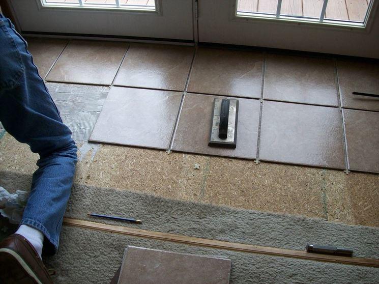 Piastrelle e fughe broomgulf pavimenti piastrelle per - Piastrelle senza fuga ...