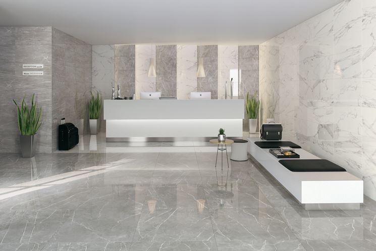 Gres porcellanato lappato piastrelle for Gres porcellanato effetto marmo lucido prezzi