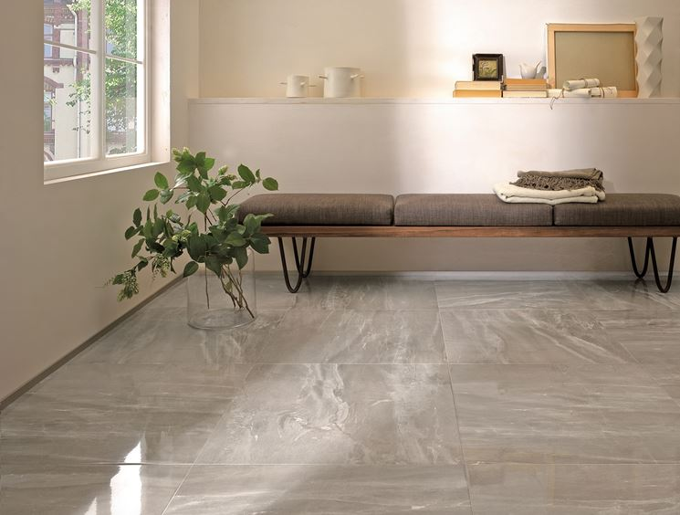 Pavimenti Moderni Lucidi. Stunning Pavimento In Cemento Per Interni ...