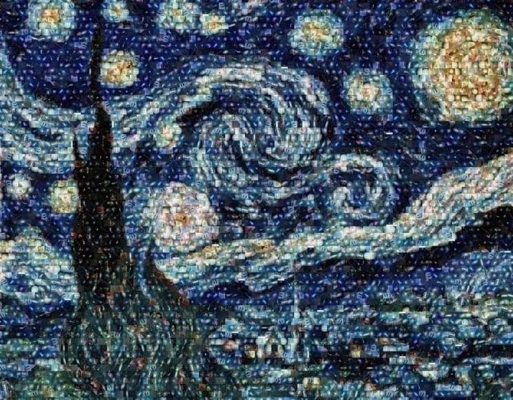 mosaico digitale