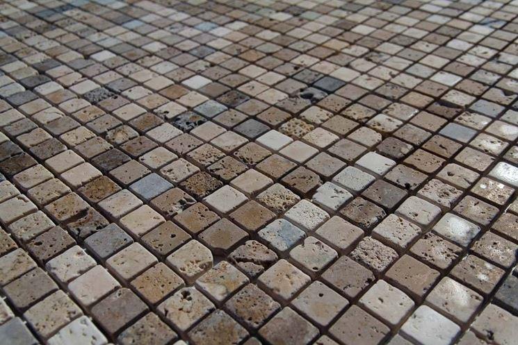 Mosaico per esterni piastrelle