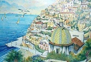 mosaico ceramica vietri