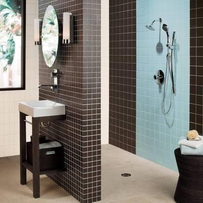 Piastrelle per bagno piastrelle - Incollare piastrelle su piastrelle bagno ...