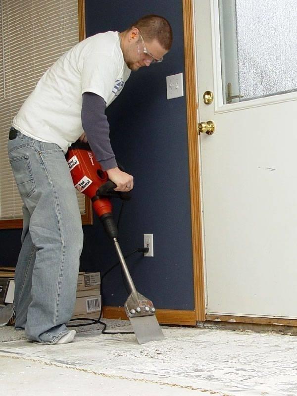 Rimuovere le piastrelle piastrelle - Rimuovere cemento da piastrelle ...