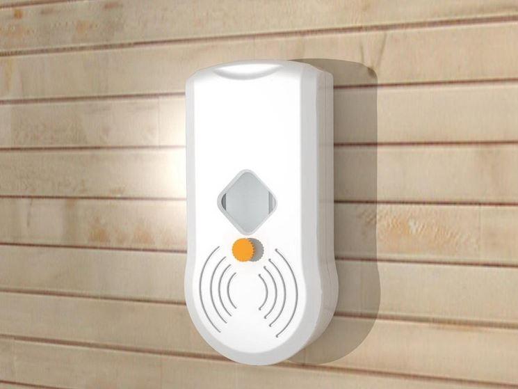 dispositivo di allarme per terremoti