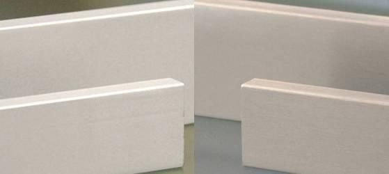 Battiscopa in legno bianco battiscopa for Battiscopa in legno bianco
