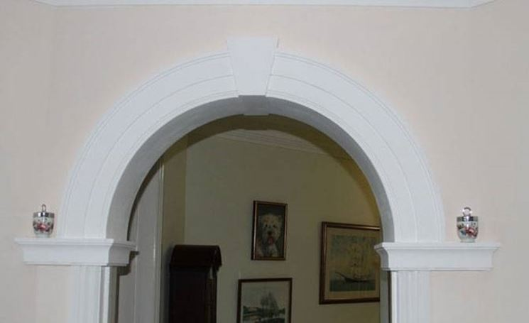 Arco in cartongesso cartongesso for Abbellire pareti di casa