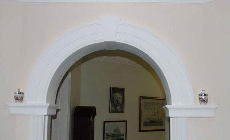 Arco in cartongesso cartongesso - Pietre per interno casa ...