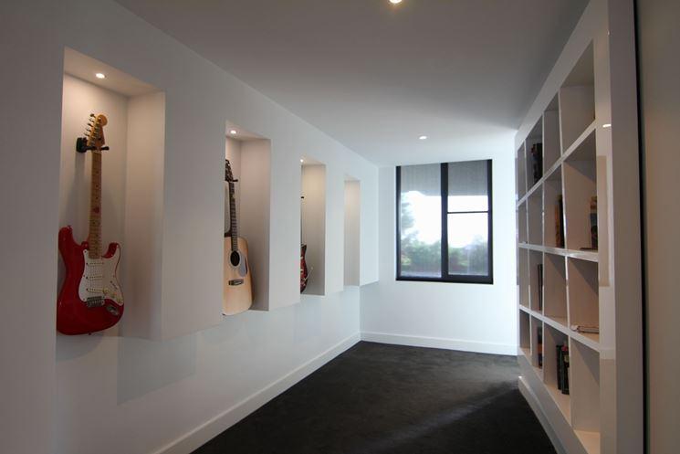 Pareti attrezzate in cartongesso cartongesso caratteristiche delle pareti attrezzate in - Cartongesso parete attrezzata ...