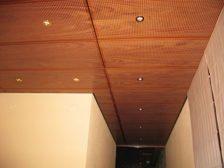 controsoffitto legno