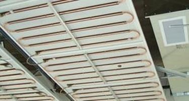 Pannelli radianti soffitto controsoffitti - Riscaldamento pannelli radianti a parete ...