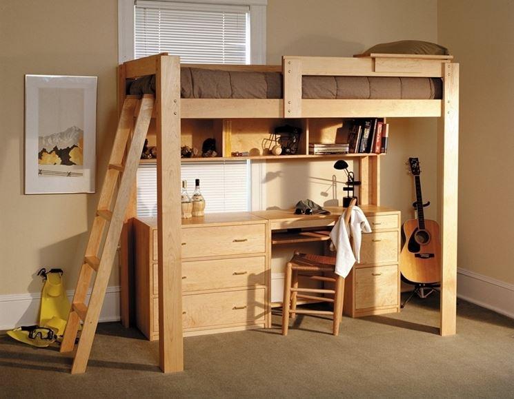 Soppalco in legno controsoffitti come costruire un for Piano di costruzione in legno soppalco