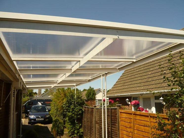 Copertura tetto: Coperture in policarbonato - Copertura tetto