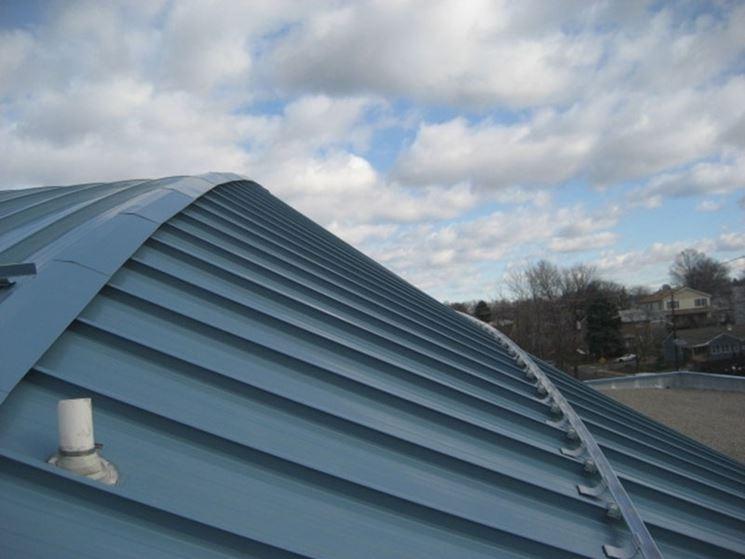 lastre in metallo per tetto