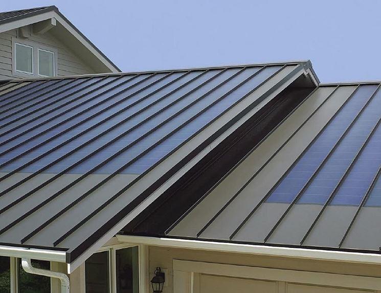 copertura tetto in metallo