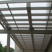 Copertura in policarbonato per tettoia