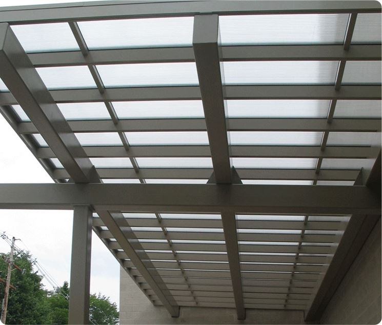 Coperture per tettoie - Copertura tetto