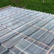 copertura in plastica per tetto